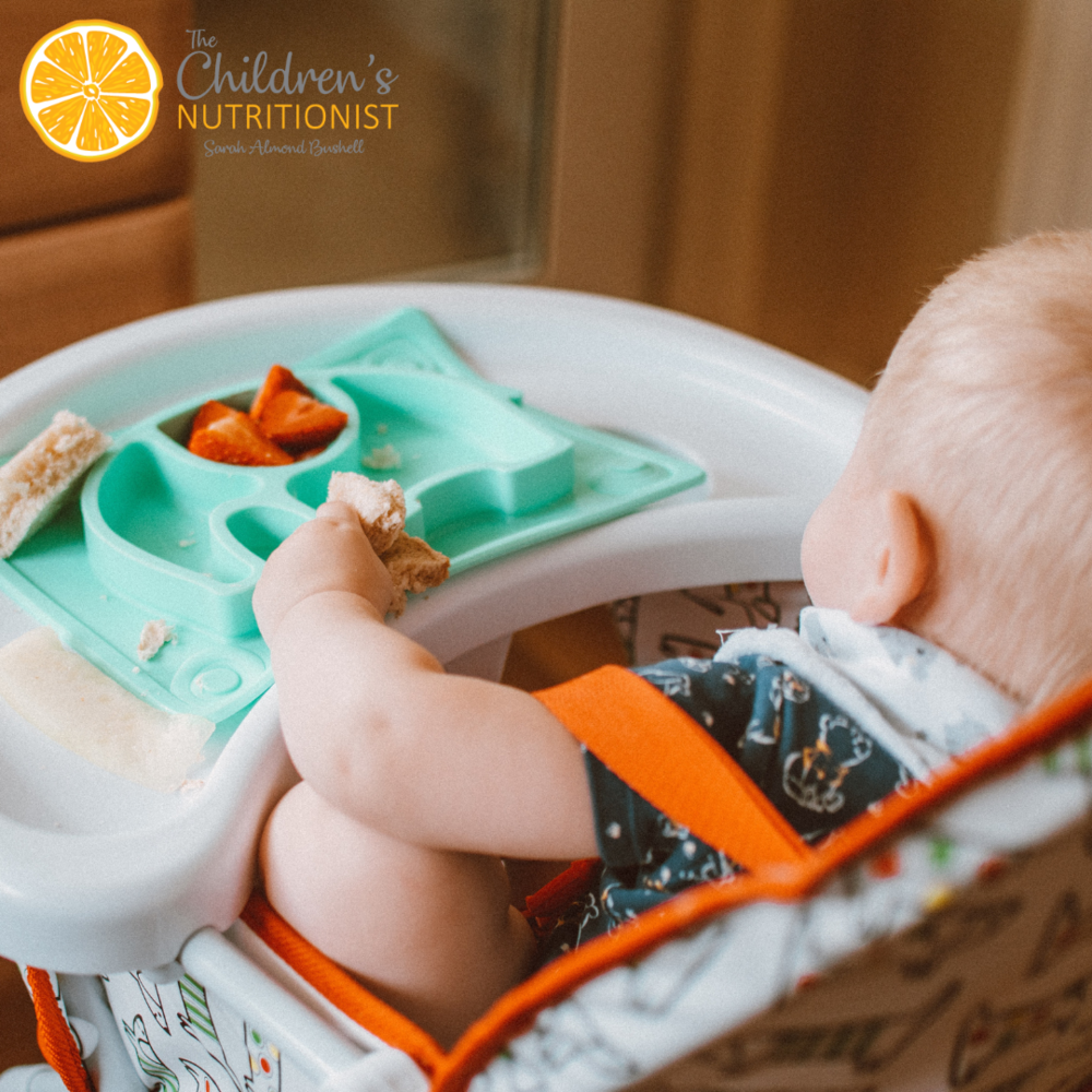 How to start baby led weaning and 30 nutritious recipes by Sarah Almond Bushell - The Children's Nutritionist