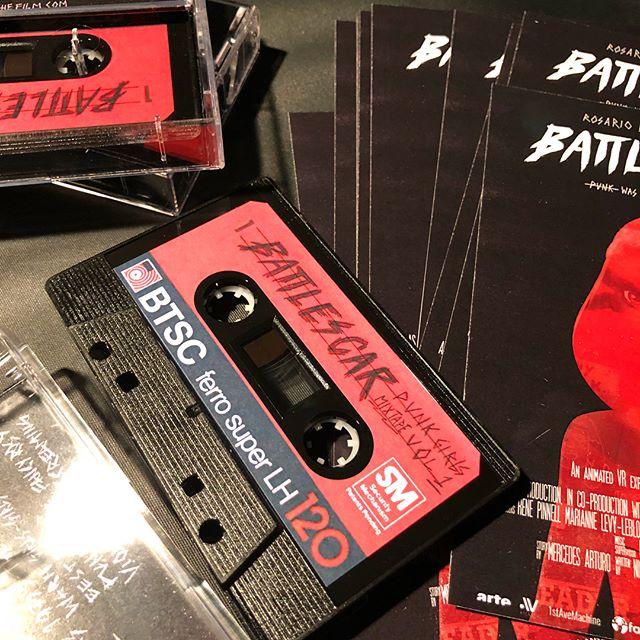 🤟🏽 BattleScar mix tapes!!! 🤟🏽. With special mixtape by @evapuyuelo 🎸💎🙍🏽♀️ . #battlescarfilm #sundance