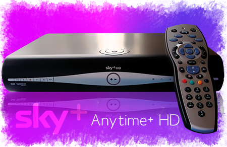 Sky+HD decoder