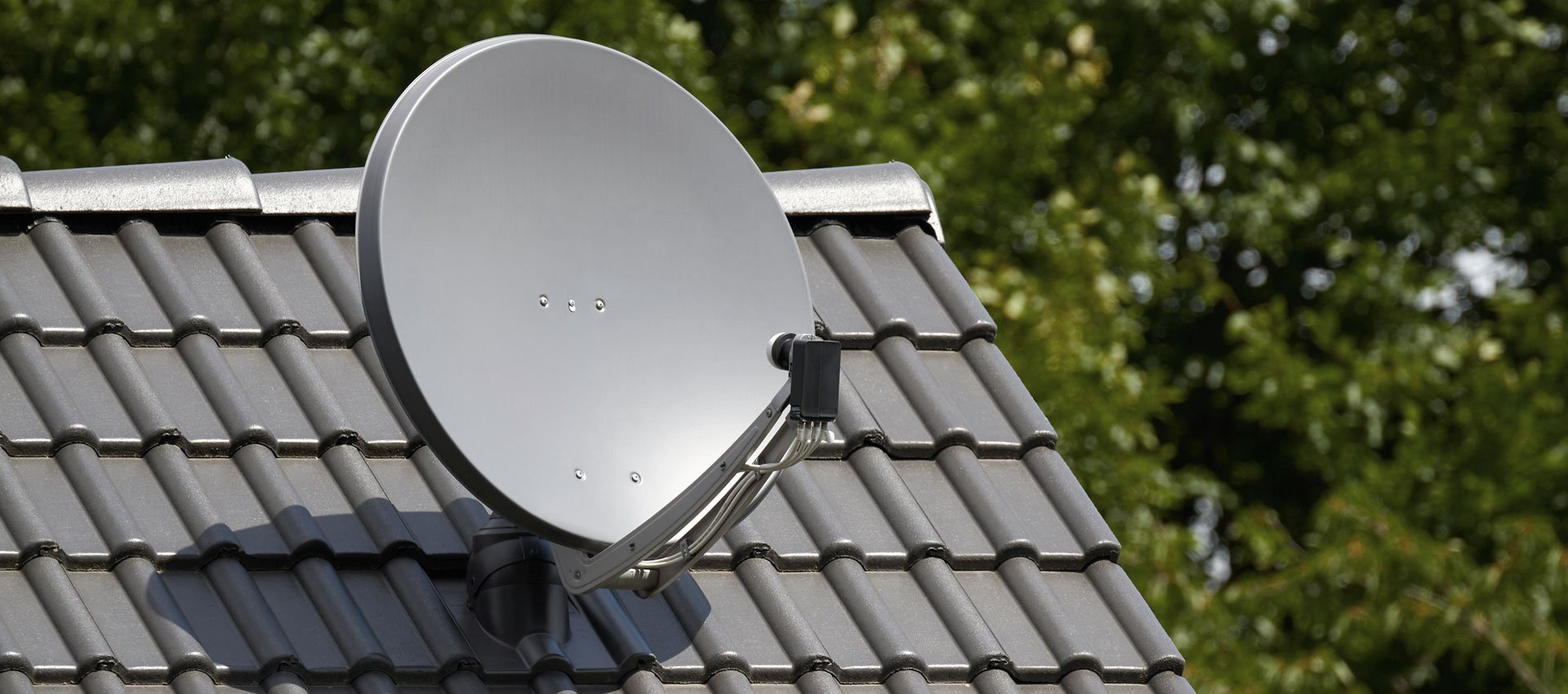 Typical 65cm dish used for Sky TV