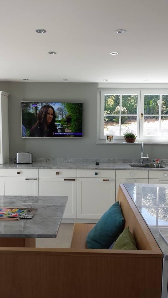 tv kitchen