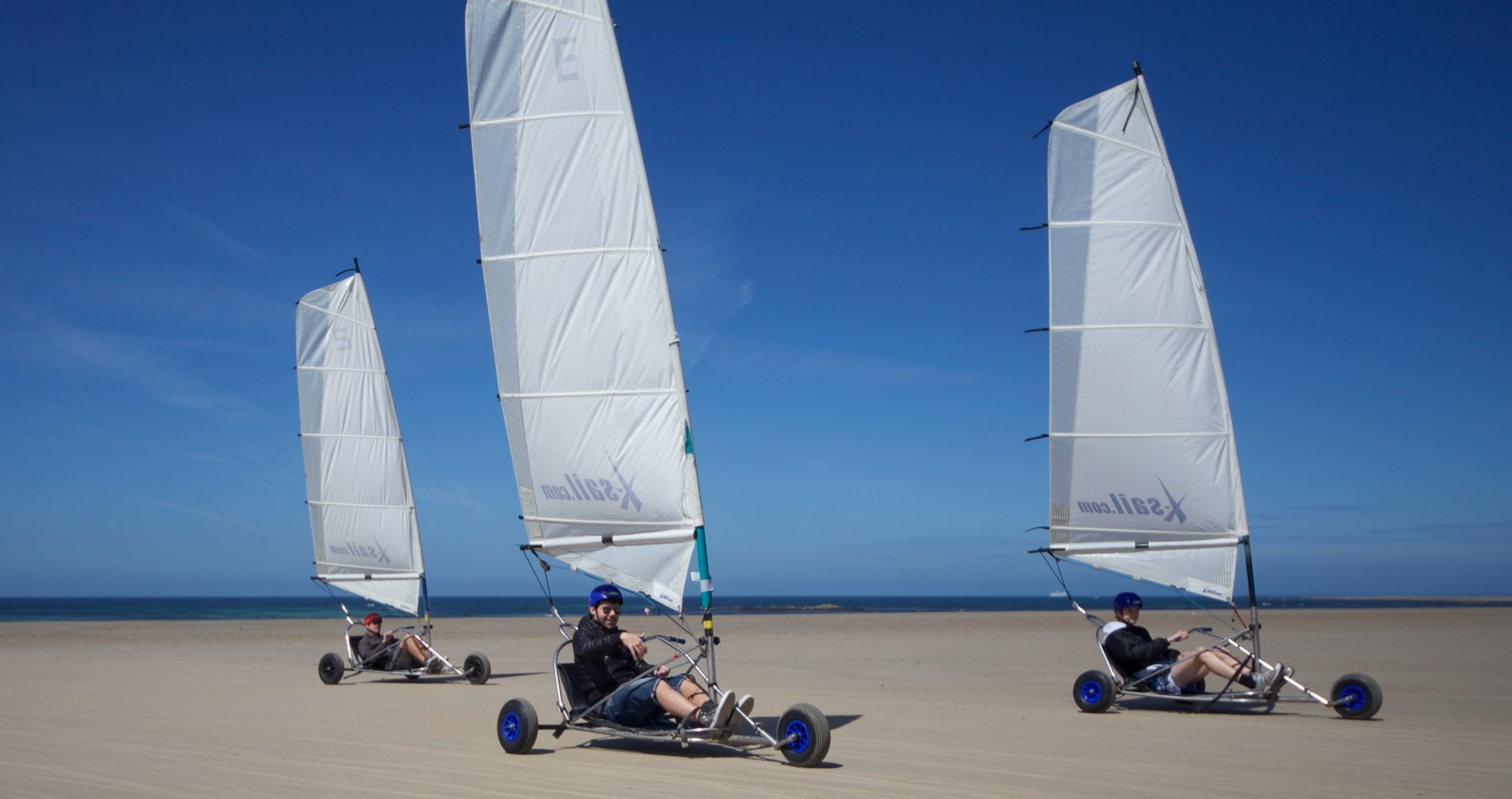 Do you want to feel the wind in your hair as you zoom up and down the beach in one of our Blokarts?