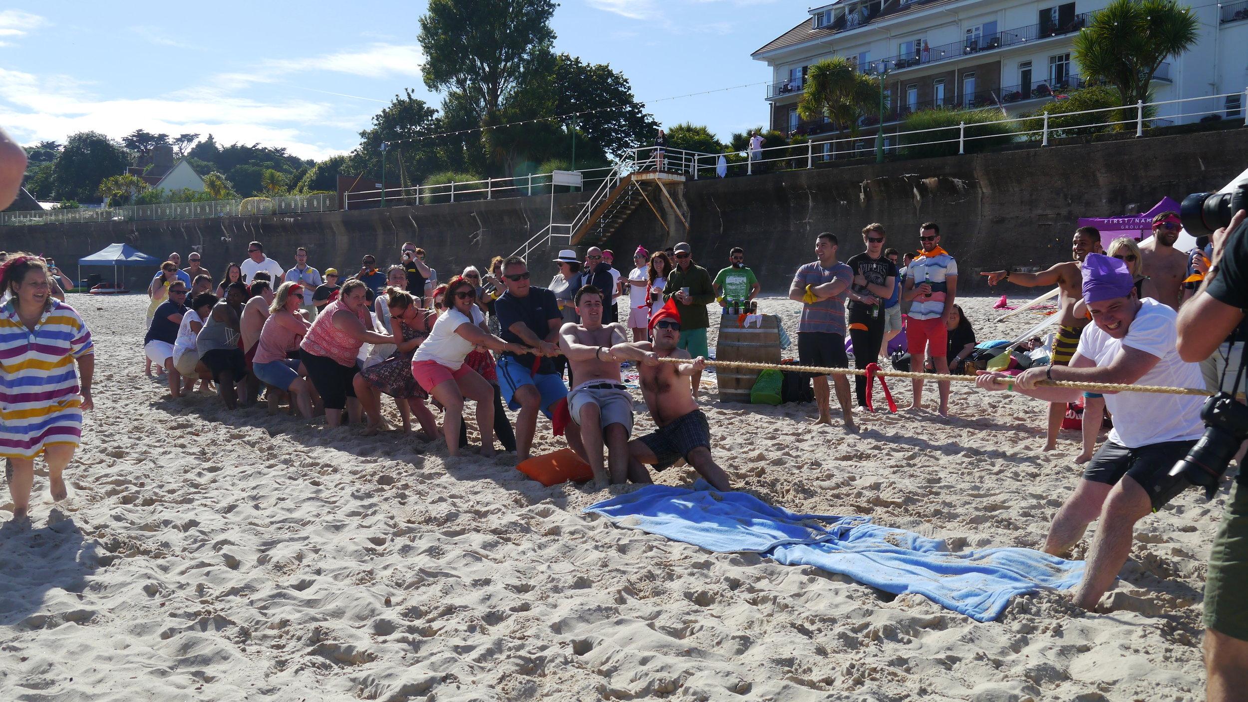 Corporate Beach Games