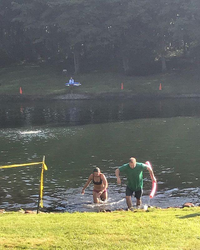 @montanafishel loving the swim #superfitcbus