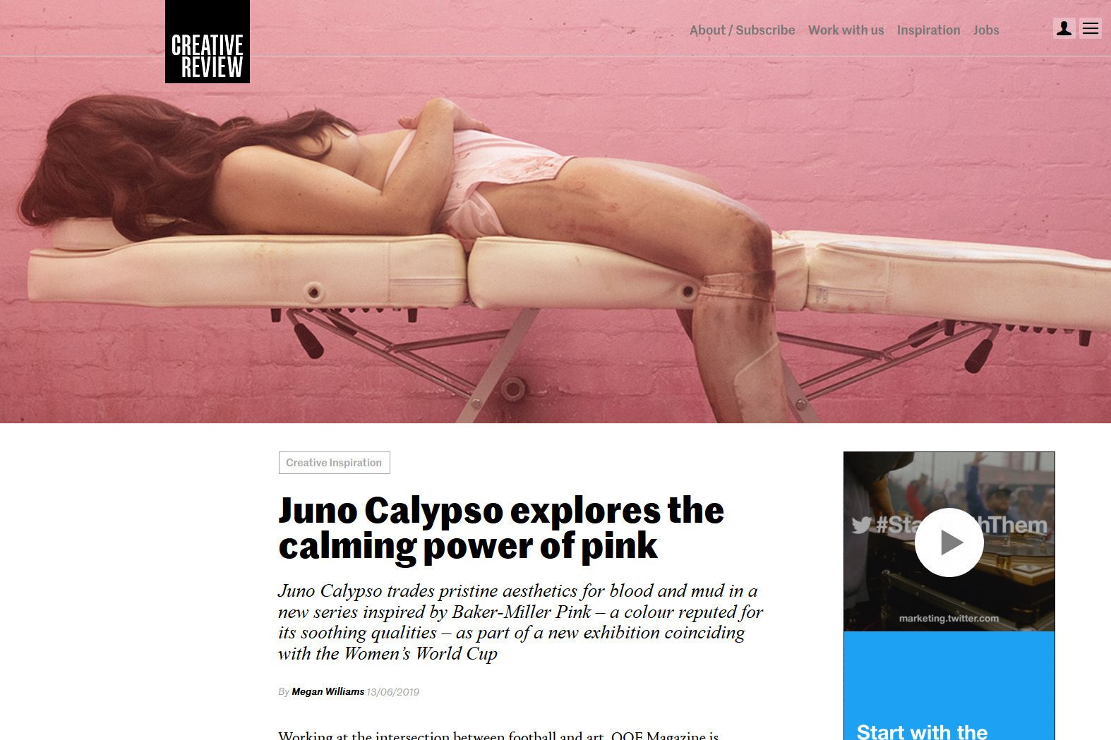 Creative Review, June 19