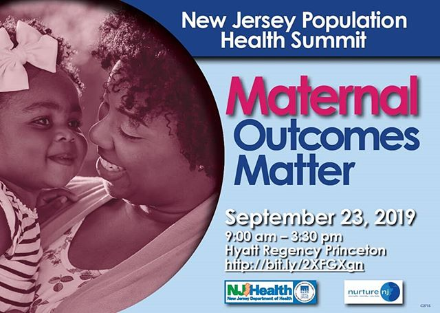 "NJ's Dept of Health 4th Annual Population Health Summit ""Maternal Outcomes Matter"" Monday, Sept 23rd. Princeton. Conf is FREE - disregard payment option info. You may select ONE session for morning and one for afternoon. Lots to learn and take out into the world and put into practice. @doccrearperry @debrapascalibonaro @latch_breastfeeding_nj @michelleneesq @firstladynewjersey #nurturenj #maternalhealthnj #birthworkersnj"