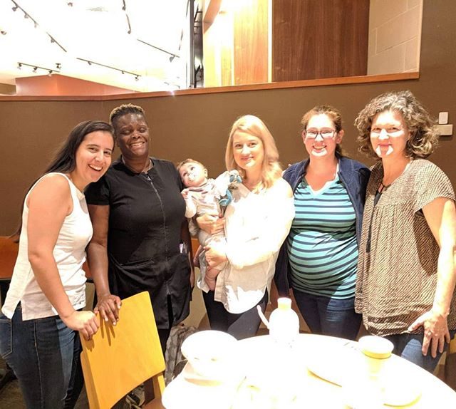 Great meeting up with some of the Skylands Doulas last night! #loveandlaughter #doulassupportingdoulas #morriscountydoula #morriscounty #sussexcounty #warrencounty #njdoulas #doulasofnj  @morrisprenatalmassage @heavenlyhandsmobilespa @audreystrat @mamapastor316  @birthvoicenj