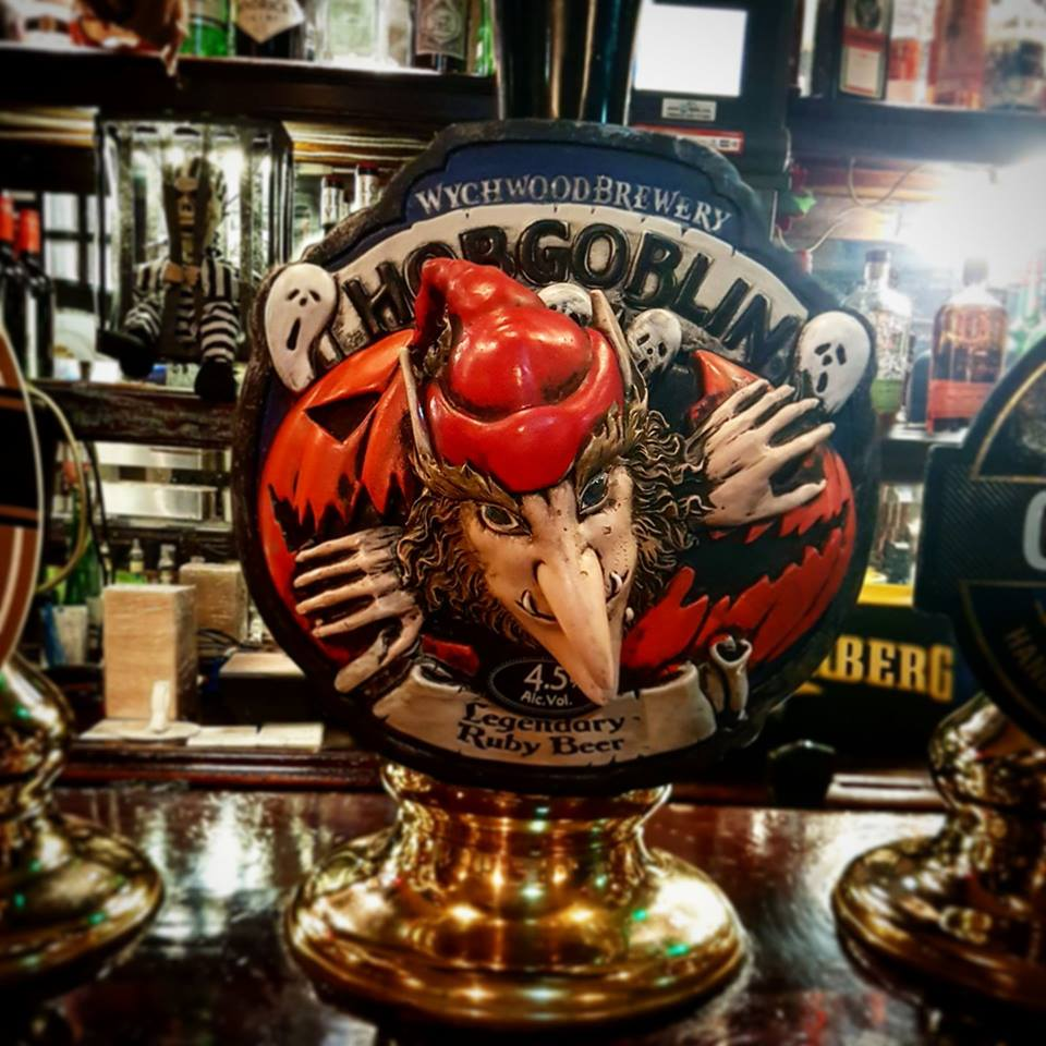 Halloween round the corner can only mean one thing!! Tasty Ruby Hobgoblin on all week!