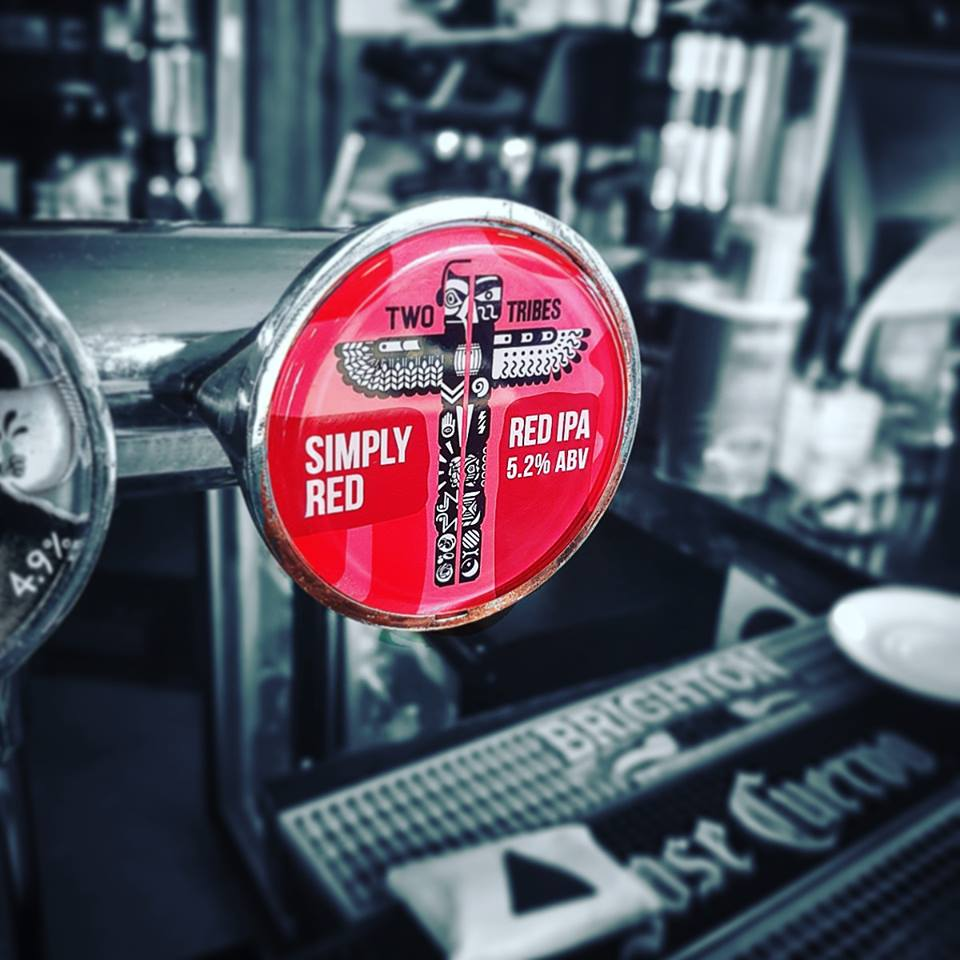 New beer on tap! Really tasty, tried it twice just to make sure...