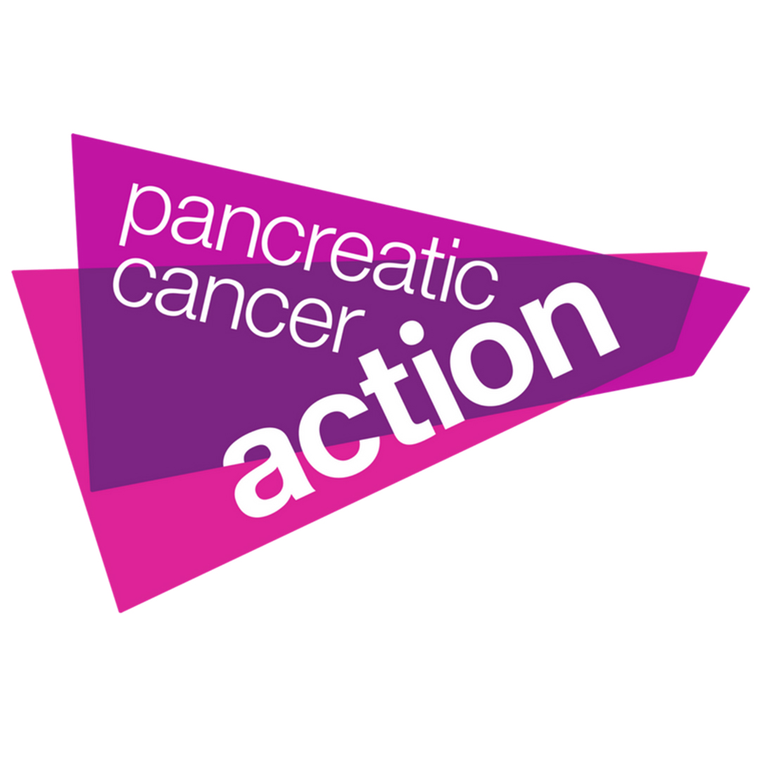 """Pancreatic Cancer Action - """"Pancreatic Cancer Action is the only UK charity that specifically focuses on improving pancreatic cancer survival rates through early diagnosis in everything we do. Early diagnosis allows people to be referred for life-saving surgery which is currently the only cure. Our vision is a day when everyone is diagnosed early and survives pancreatic cancer."""" - Ali Stunt, Founder and CEO."""