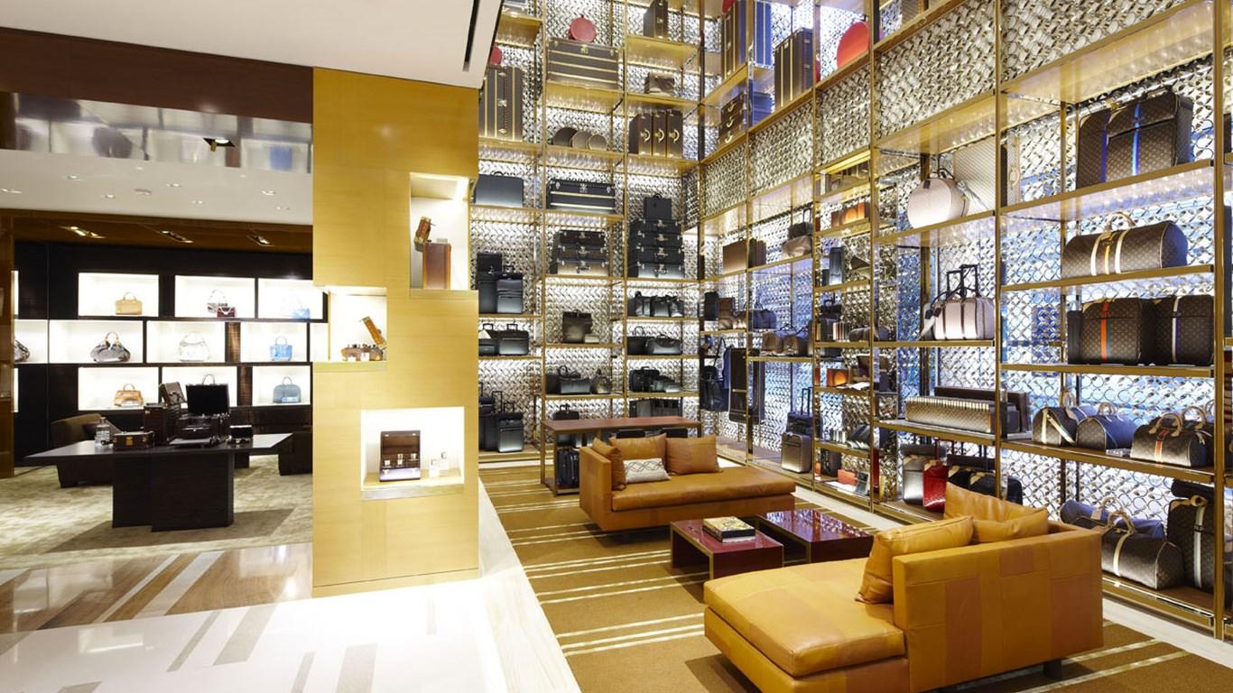 Louis Vuitton - Launching the London flagship store