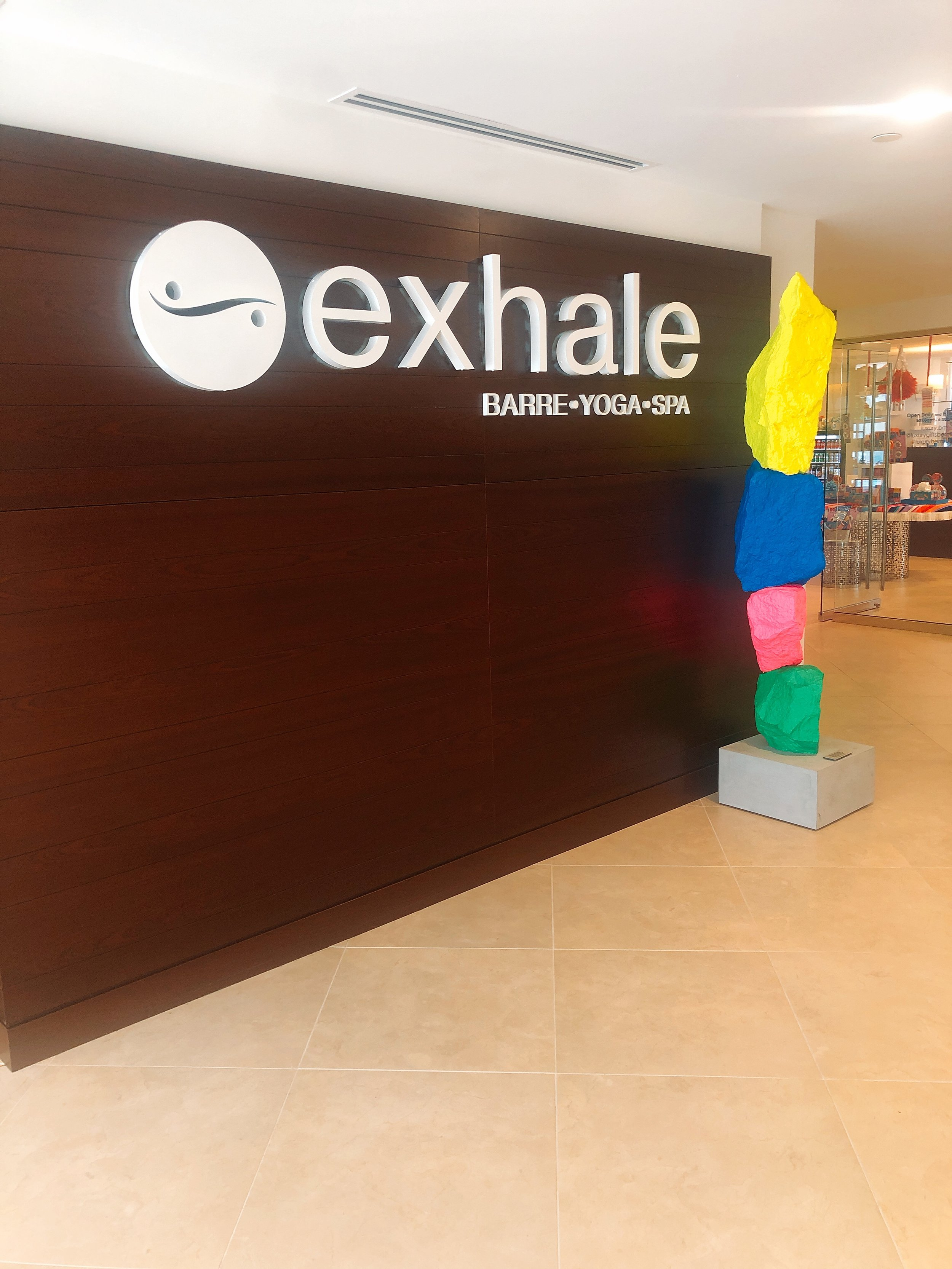 Exhale Spa and Workout Classes/Gym