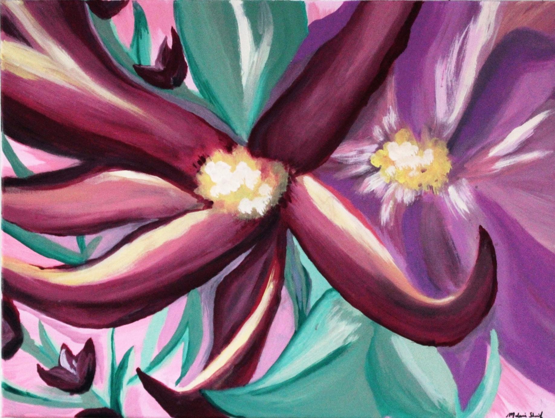 Flower Studies III (For Mom)
