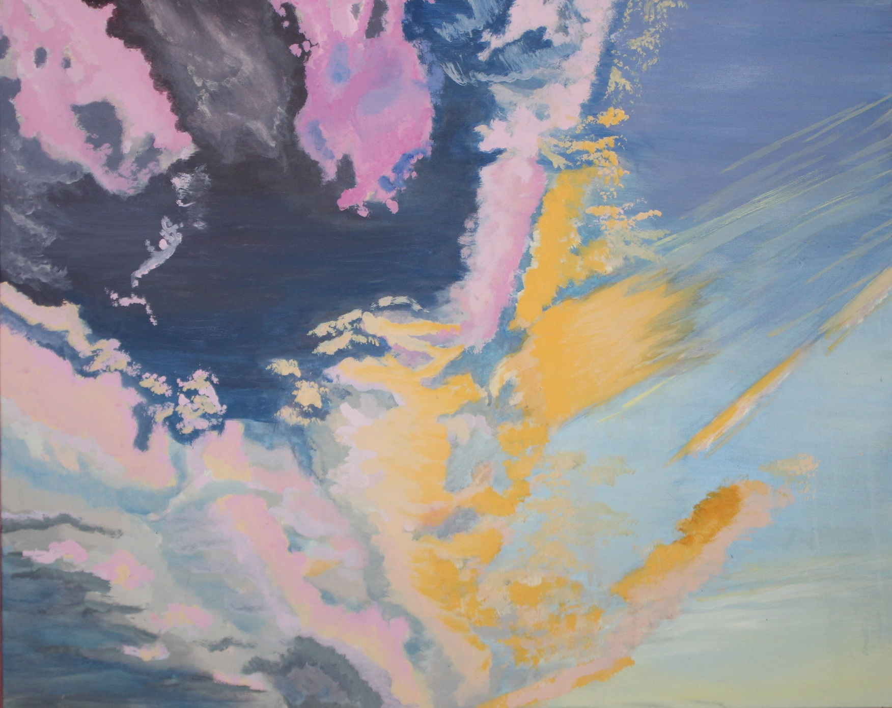 paintings (acrylic, watercolor, and gauche on canvas) -