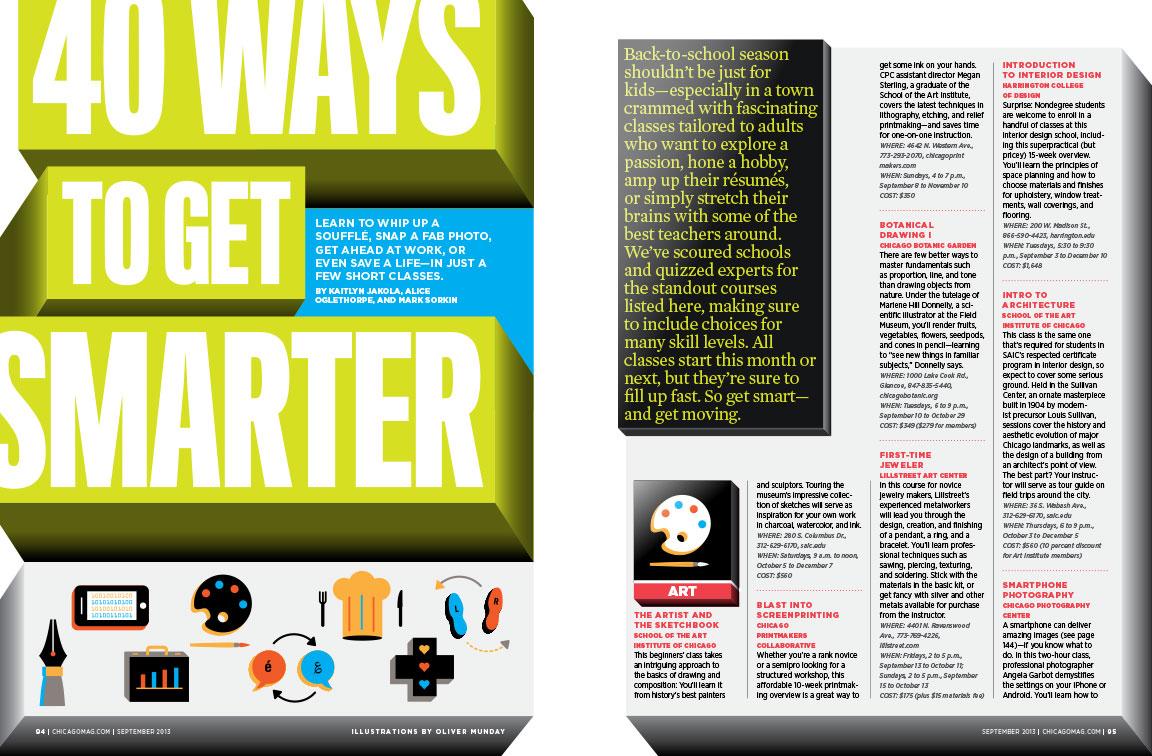 40 Ways to Get Smarter