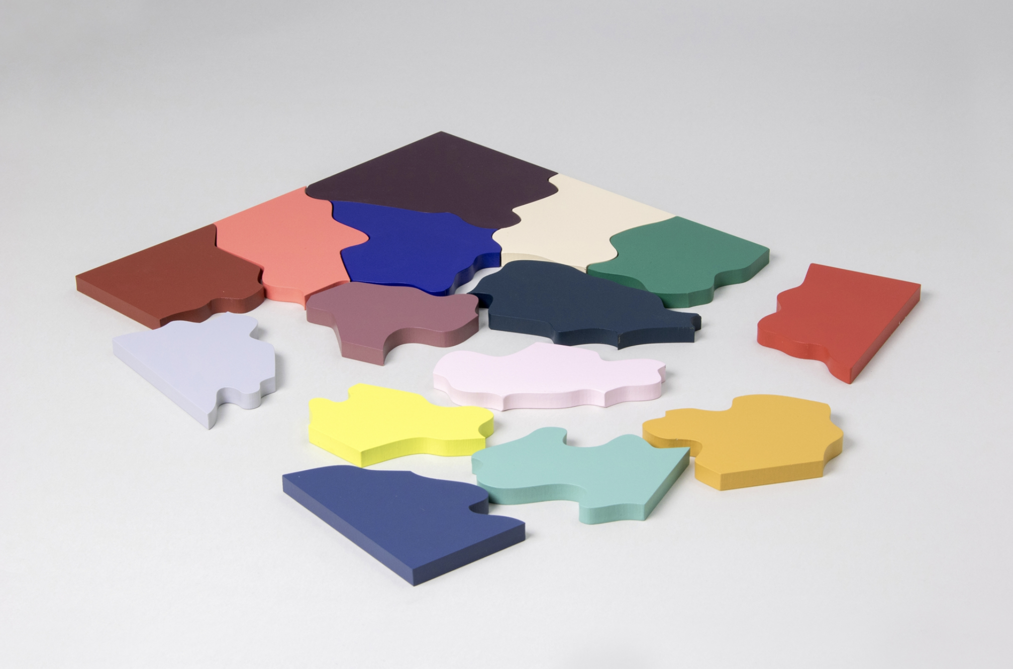 COLOR PUZZLE : Launched by  Areaware (2016)  Credit : CLARA VON ZWEIGBERGK website
