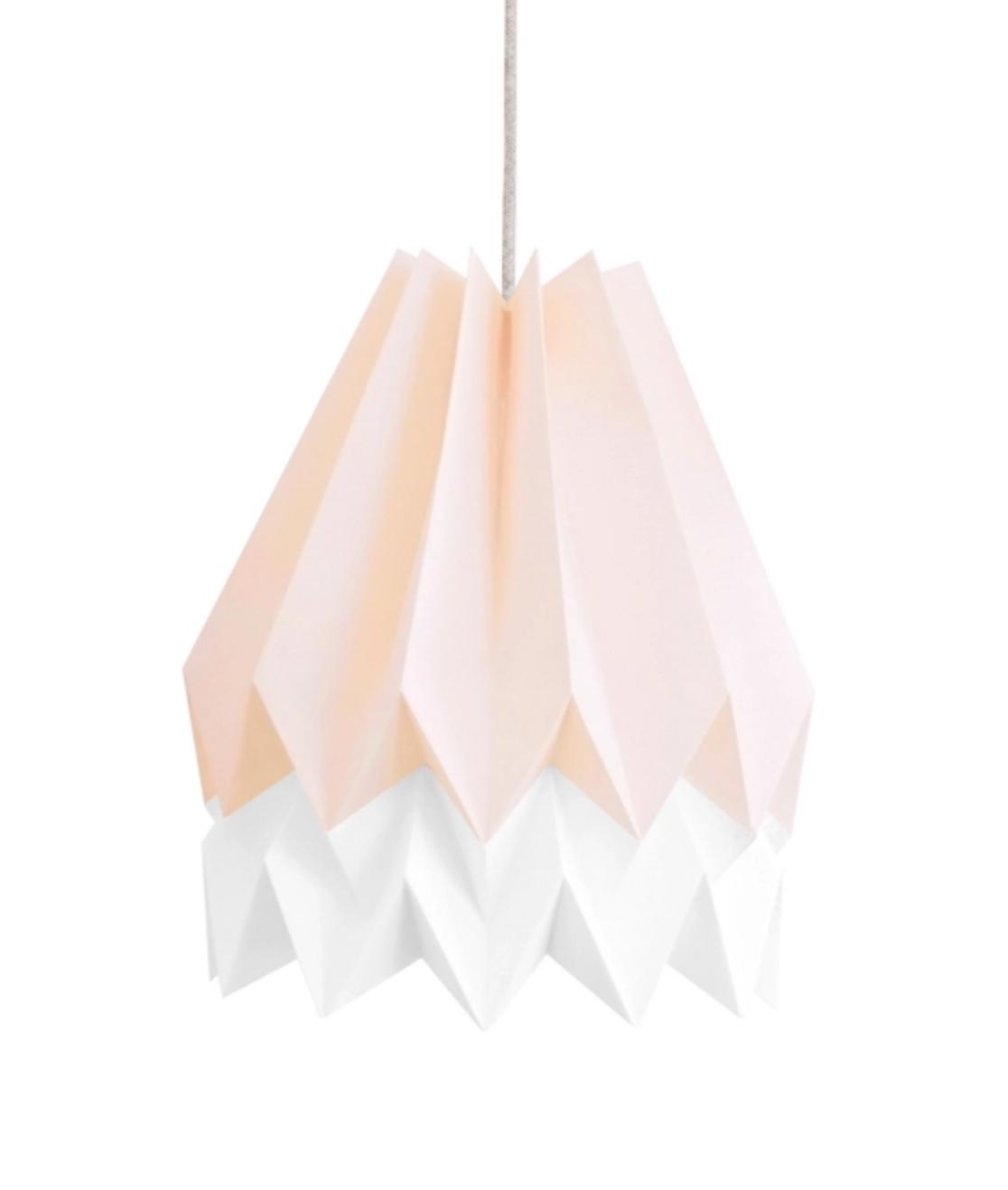 Handmade Origami lighting by  ORIKOMI