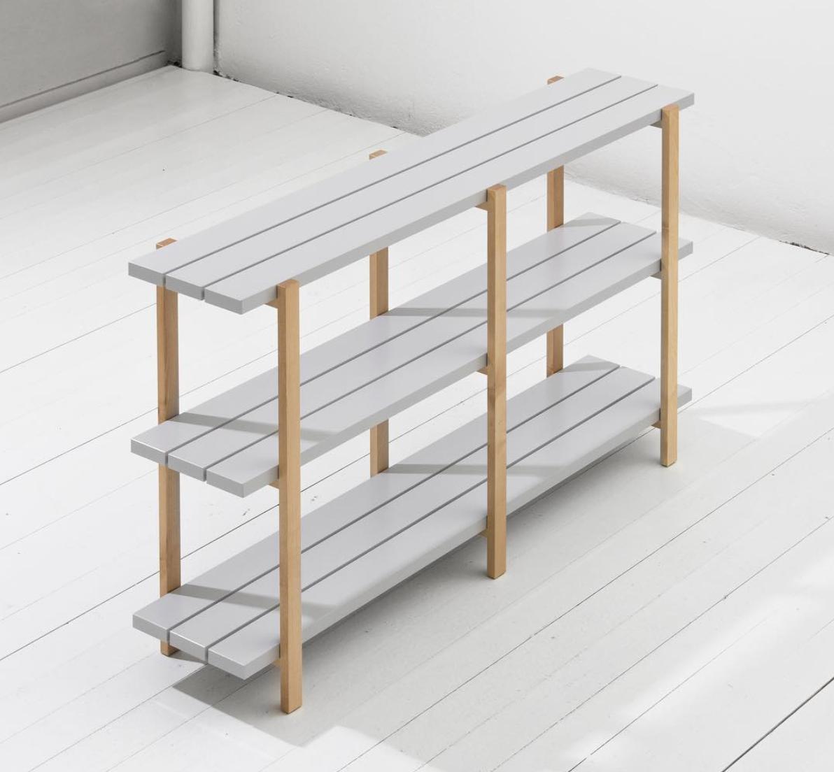 Shelving unit Ypperlig by  HAY x IKEA  - Credit photo : Biggamedesign
