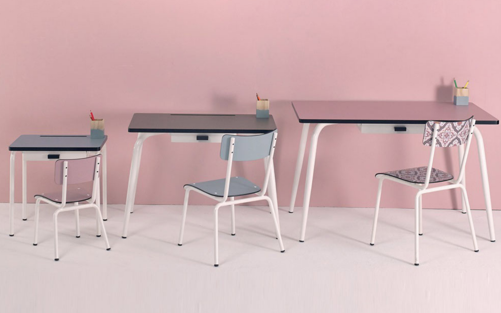 Retro Style with this Little Suzie chairs by  LES GAMBETTES  #backtothe50s