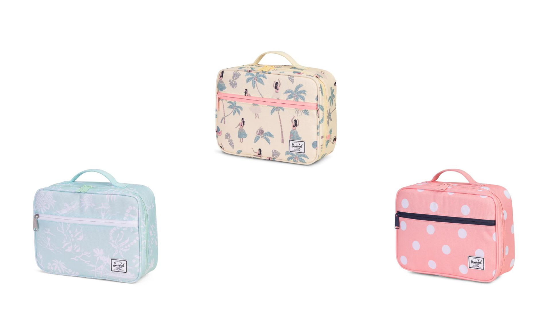 Lunch bags by  Herschel . They have lots of different patterns to choose from!