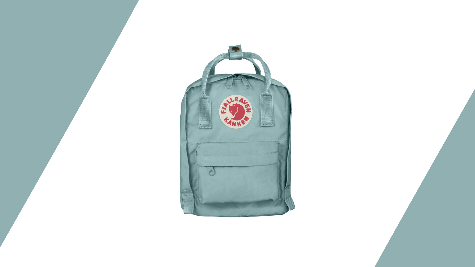 Mini pastel backpack by  FJALLRAVEN . Pastel fun on the go!