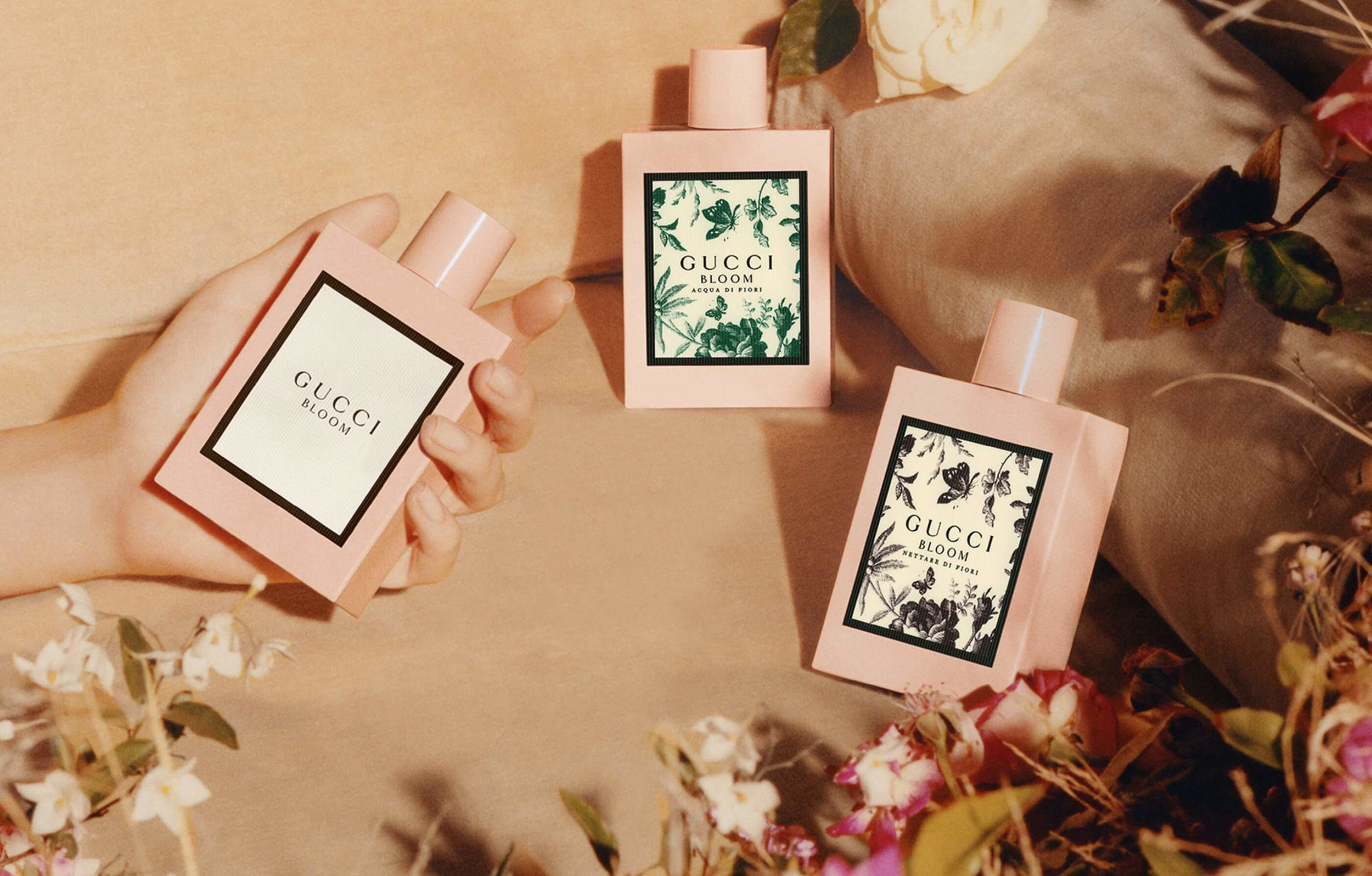 The marvelous Bloom fragrances from  Gu  c  ci .