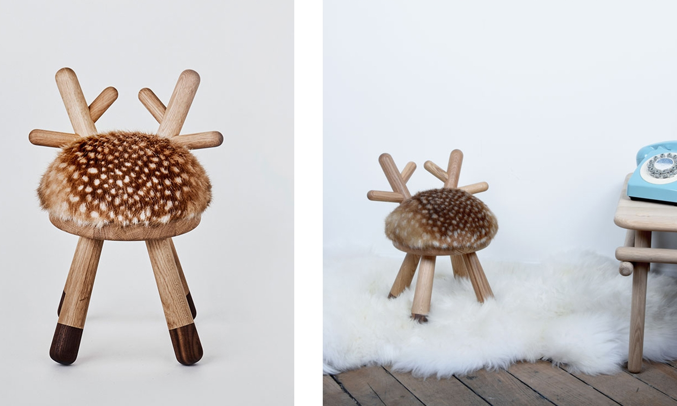 The cutest chair ever! Bambi Chair designed by Takeshi Sawada and sold by  EO .