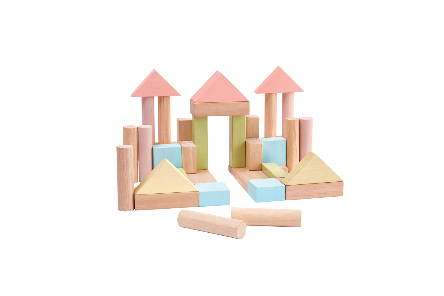 A great toy for kid's imagination! 40 Unit Blocks from  Plan Toys .