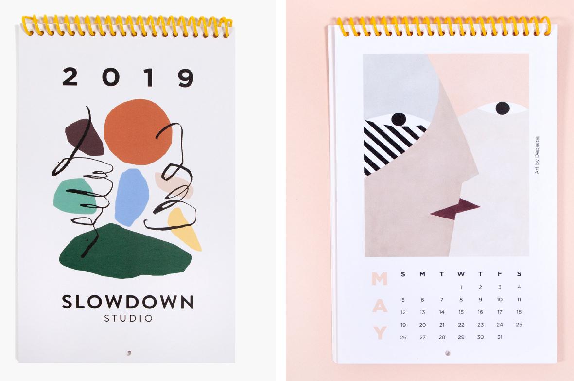 2019 Calendar  - Official picture