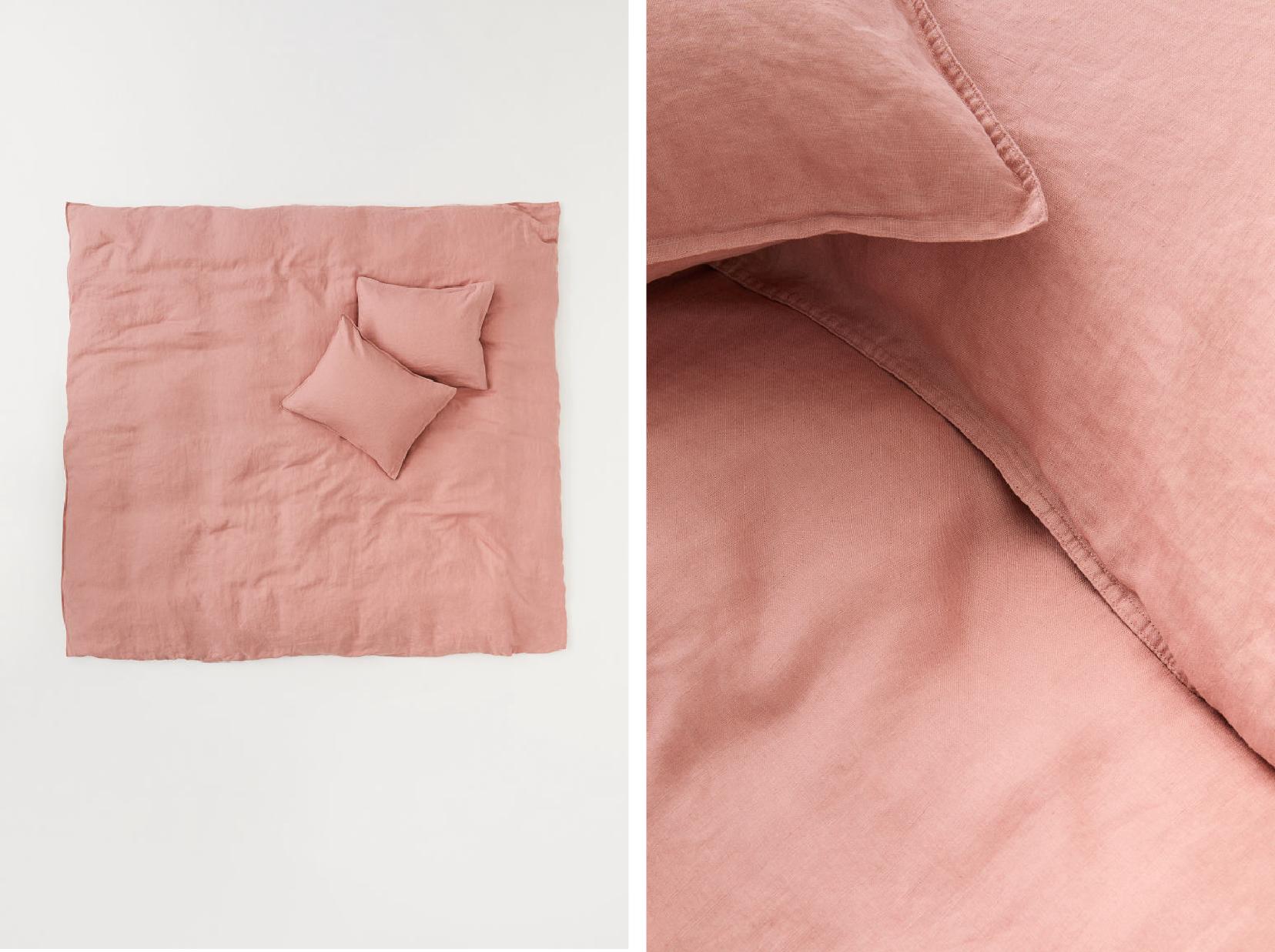 Washed Linen Duvet Set  - Official picture