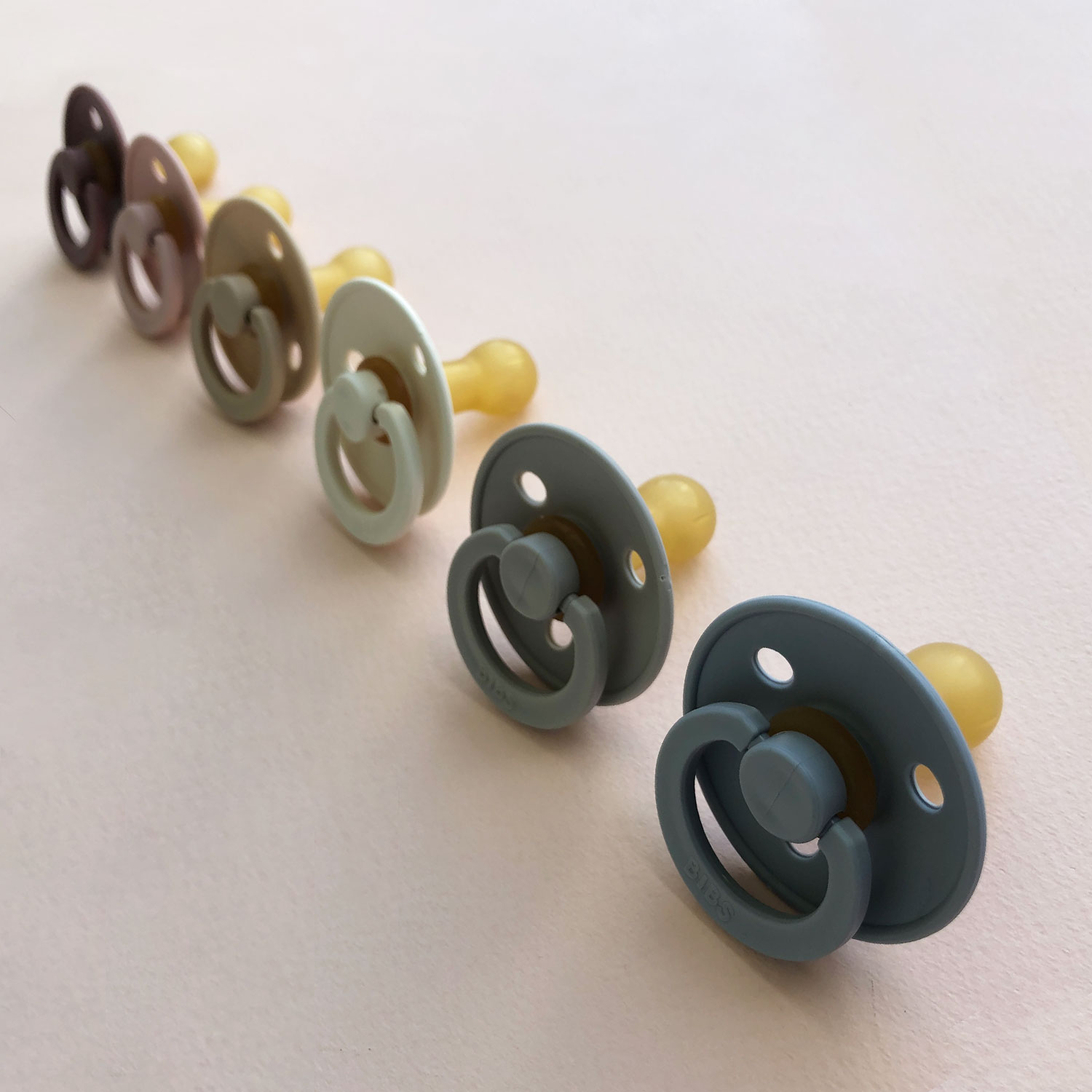 Bib's pacifiers - Picture by Design Hunger