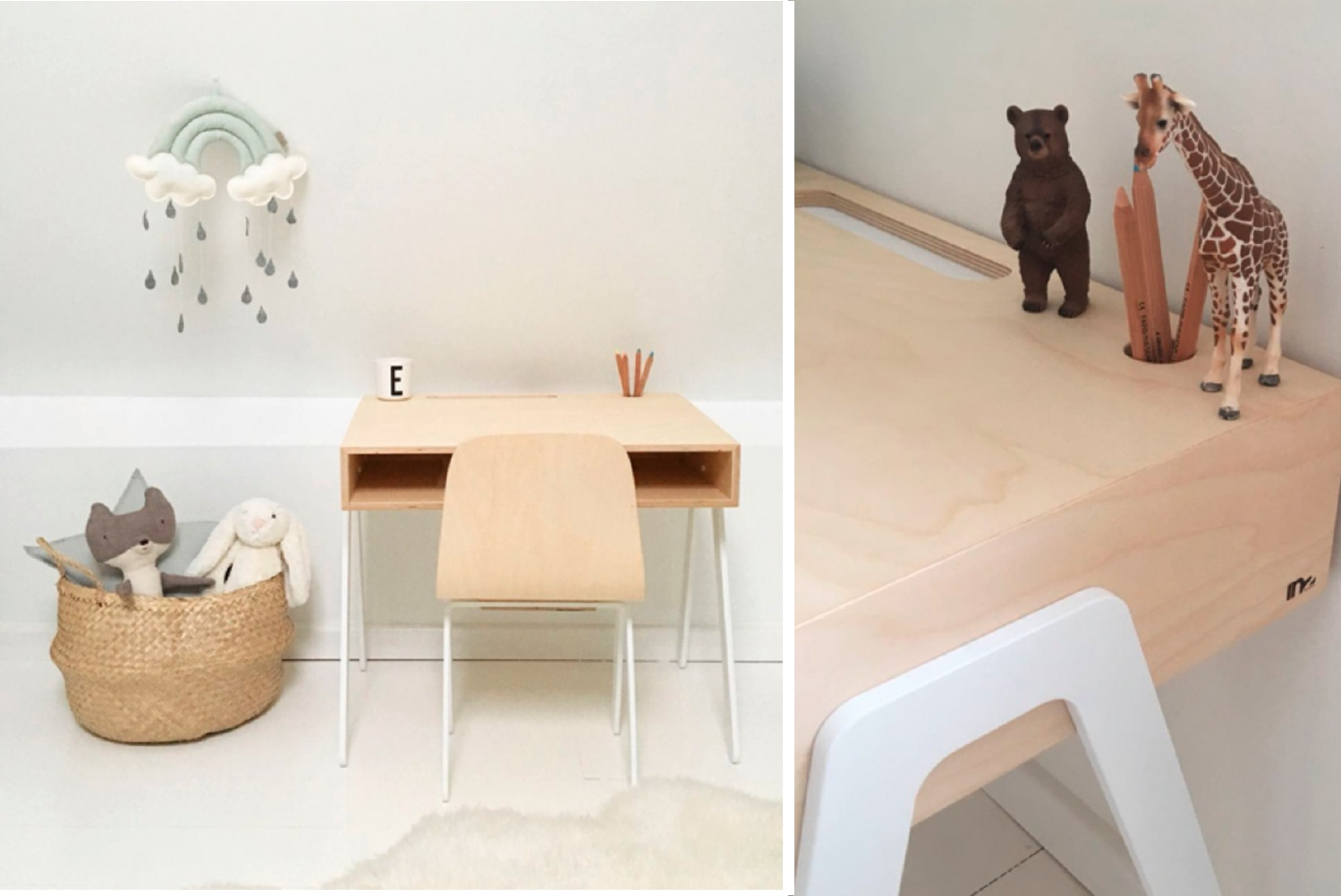 Kids Desk & Chair by In2wood  - Official picture