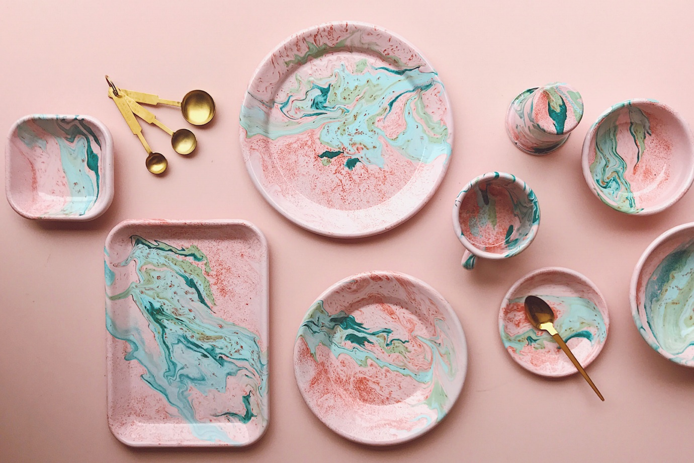 New Marble by Bornn Enamelware  - Official picture