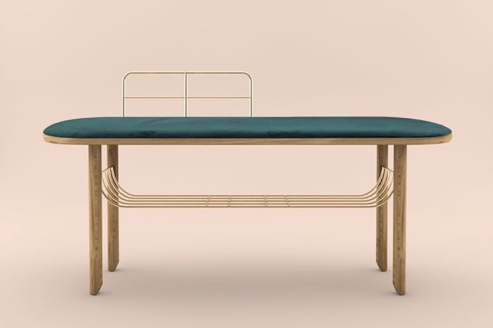 Eustache bench  by  Margaux Keller  to  Hartô  - Official picture