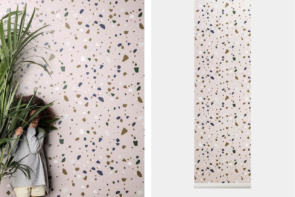 Terrazzo wallpaper  - Official picture