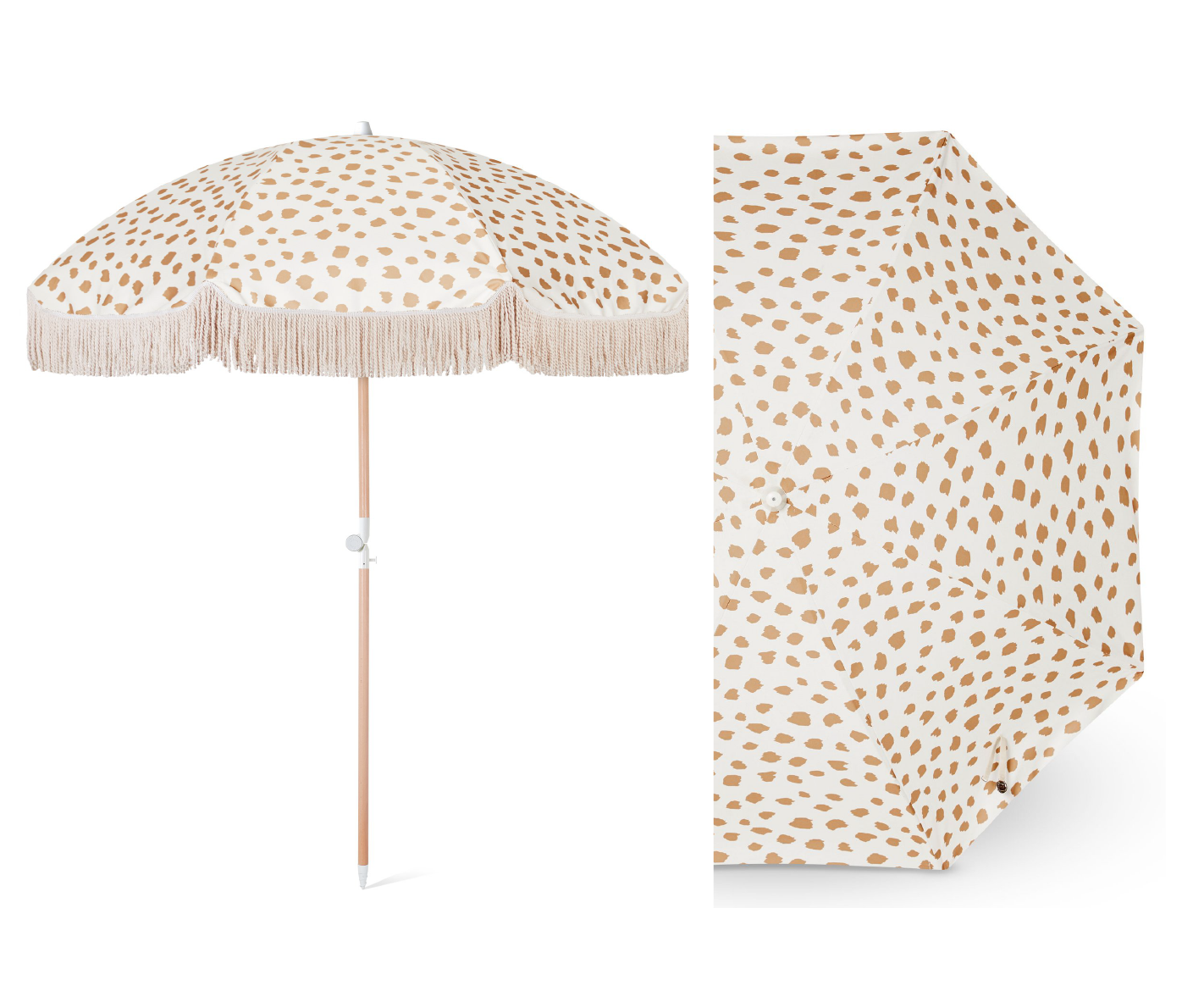 Golden Sands Beach Umbrella  - Official picture
