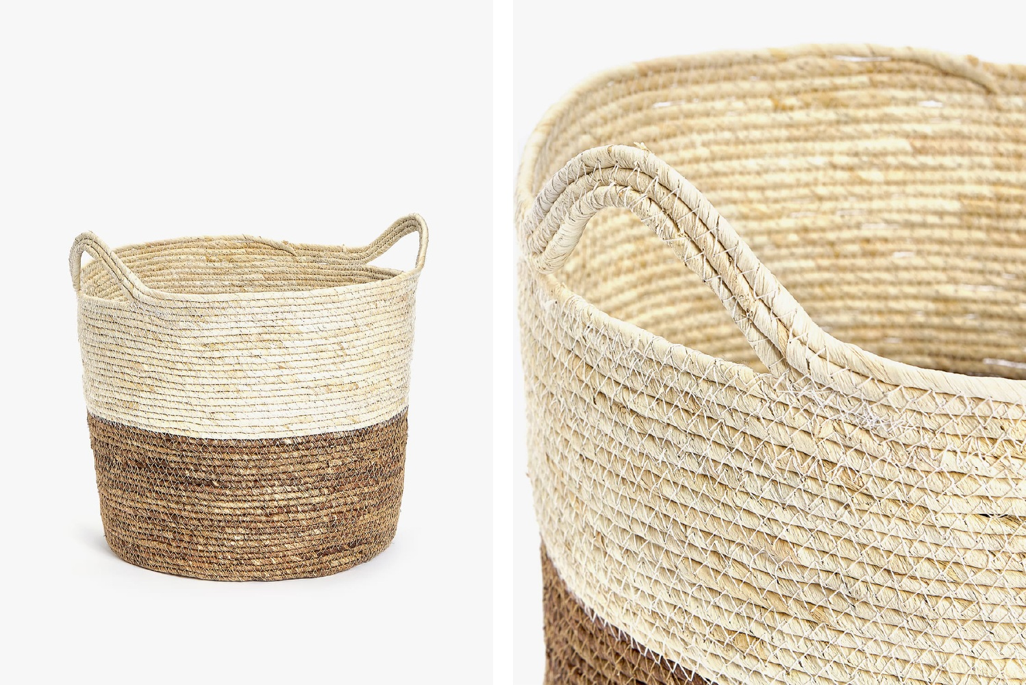 Corn leaves basket  - Official picture