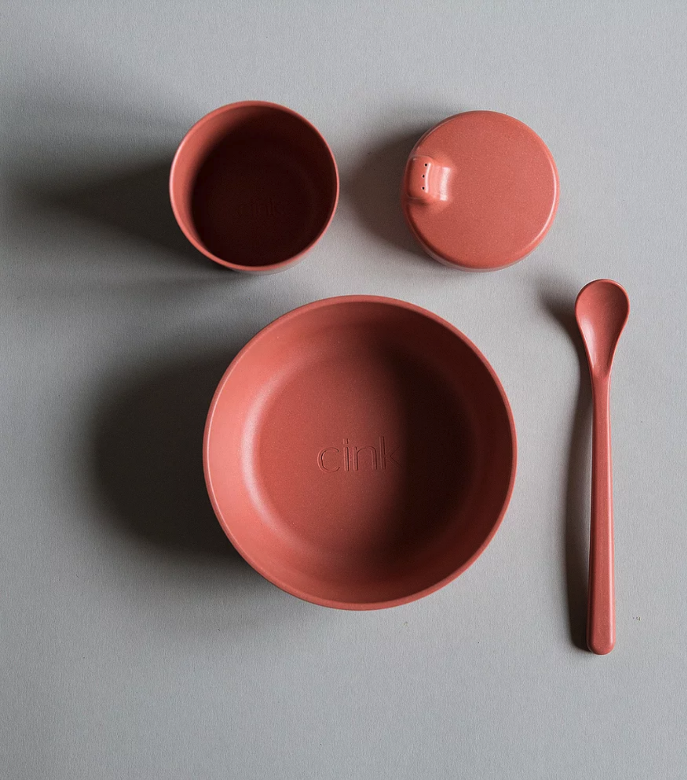 Bamboo tableware set  by Cink