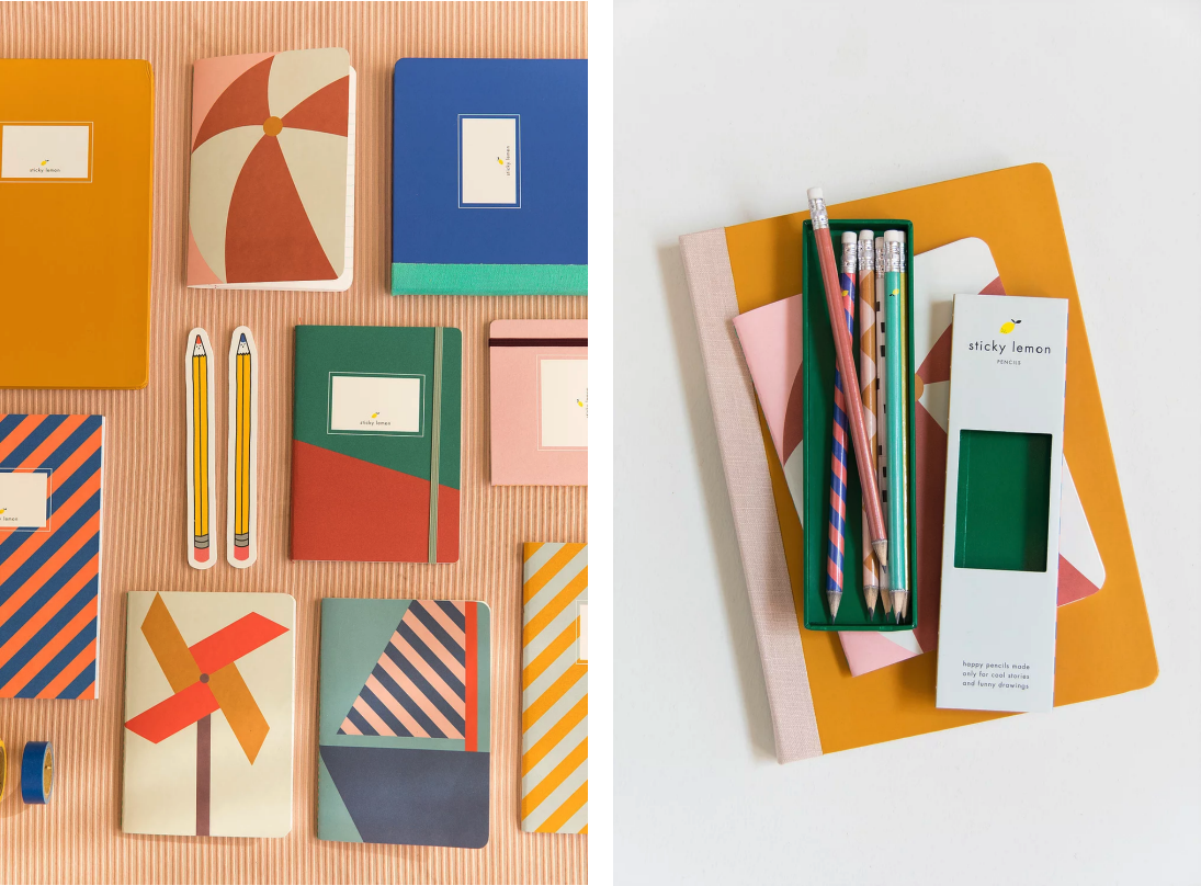 Stationery by  Sticky Lemon