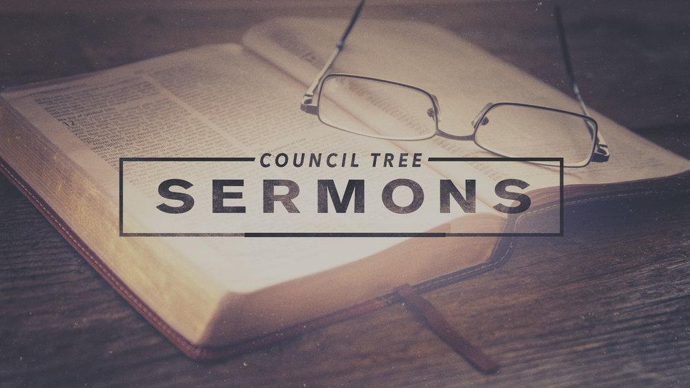 Sermons — Council Tree