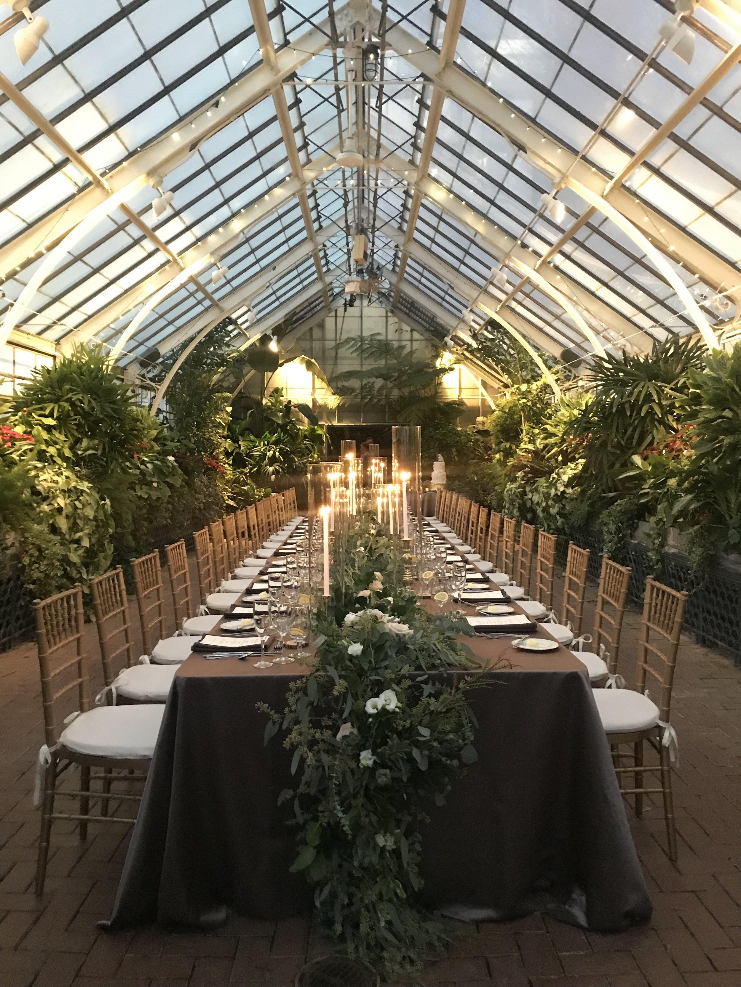 Biltmore Estate Reception Dinner Tablescape