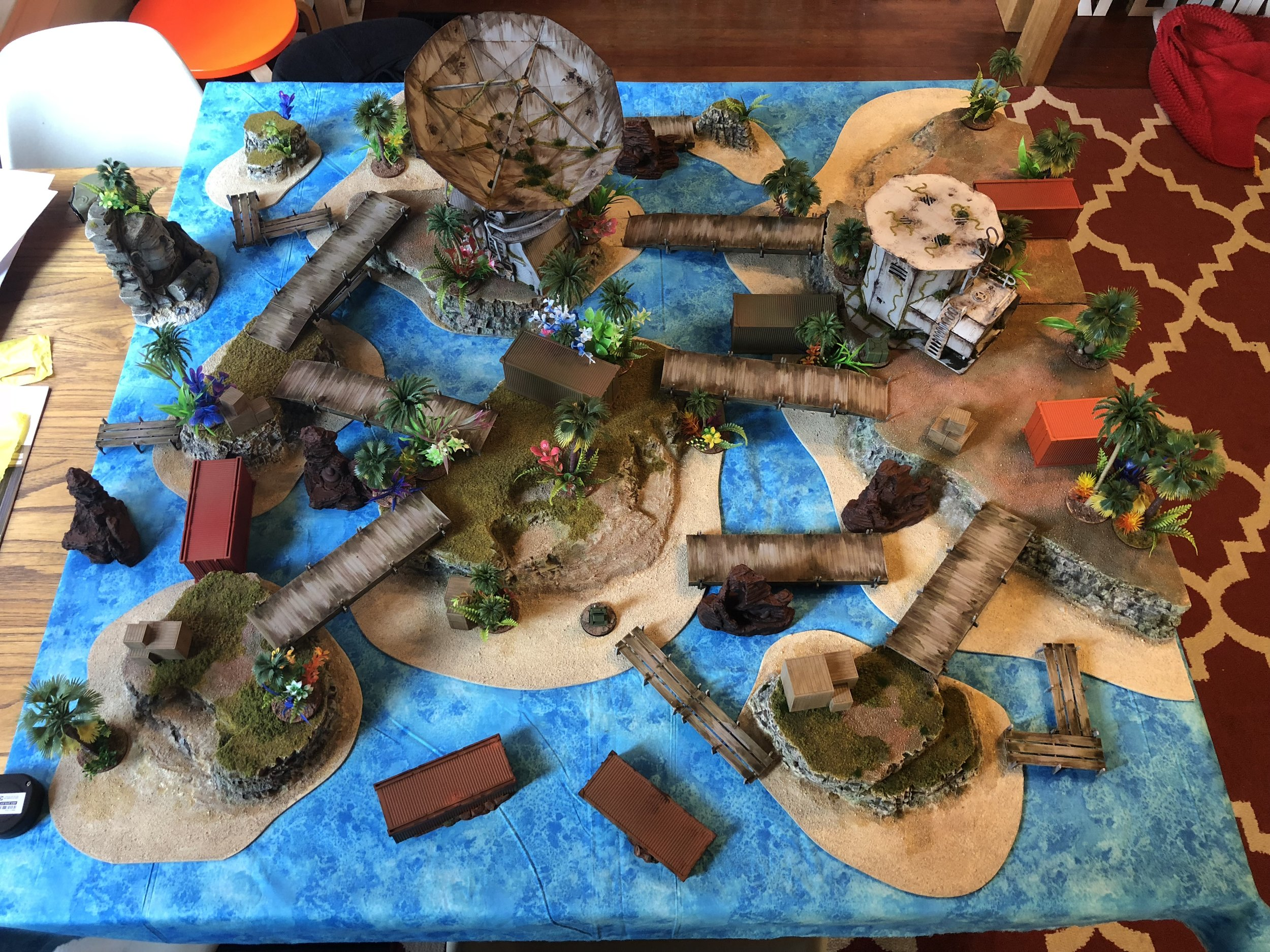 Better be ready to play with some fancy terrain at the Rose City Raid!