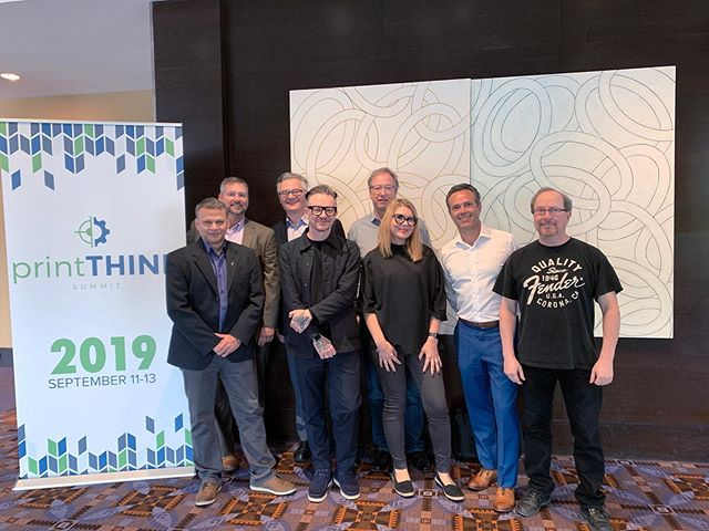 Cog is back from TLMI's printTHINK conference in Chicago after hosting a discussion about award-winning AeroFlexx technology, its contribution to sustainability and the future of liquids packaging. Look for our article coming soon to the COGnitions™ page of our website. #COGnitions #TLMI #PrintTHINK #LabelLeaders #AeroFlexx #CogLLC