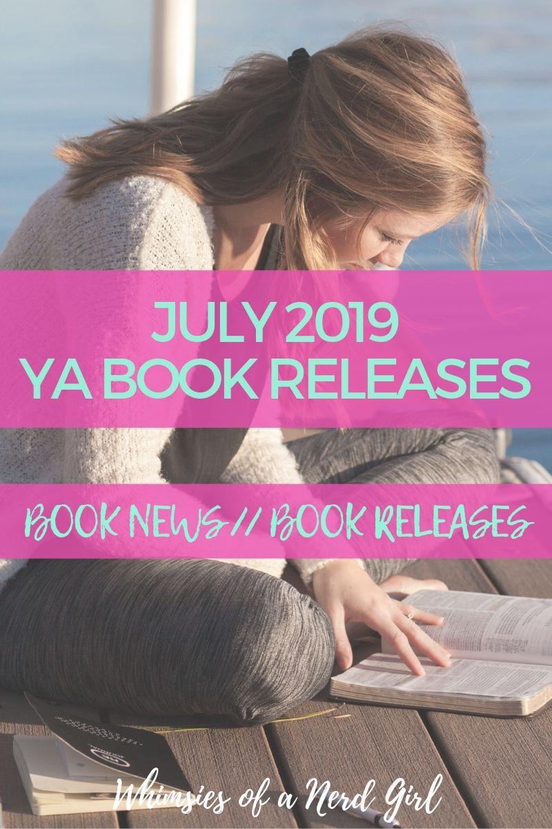 July 2019 YA Book Releases