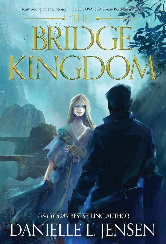 Title:  The Bridge Kingdom #1 , Author: Danielle L. Jensen, Publisher: Context Literary Agency LLC, Publish Date: August 13,2019; Genre(s): Adult, Fantasy, Romance, Adult Fantasy Romance