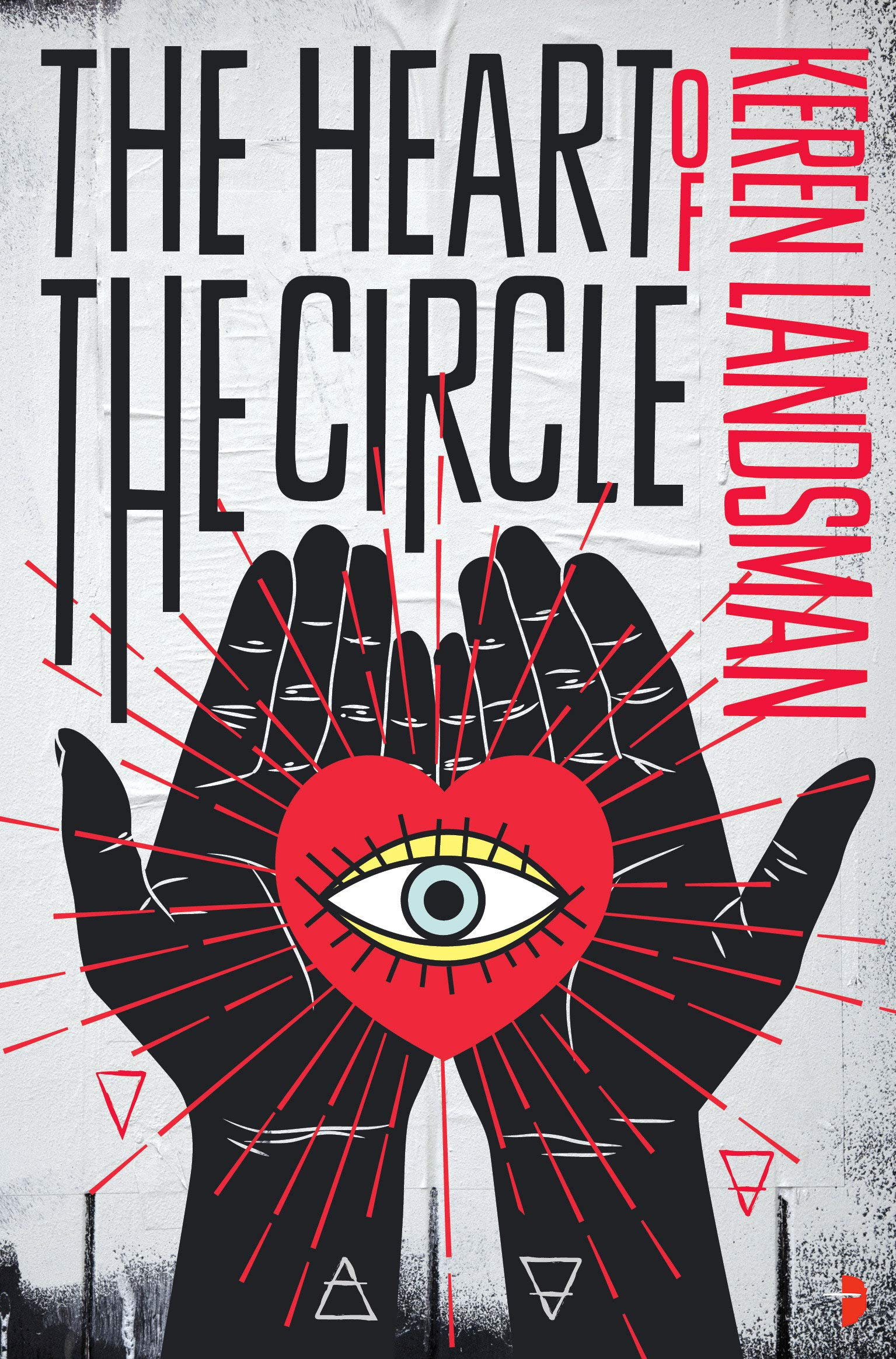 Title:  The Heart of the Circle , Author: Keren Landsman, Publisher: Angry Robot, Publish Date: August 13, 2019; Genres + Tags: YA, Young Adult, Fantasy, Sci-Fi, Science Fiction, Sci-Fi/Fantasy, Romance, LGBT, Cultural Diversity, Israel