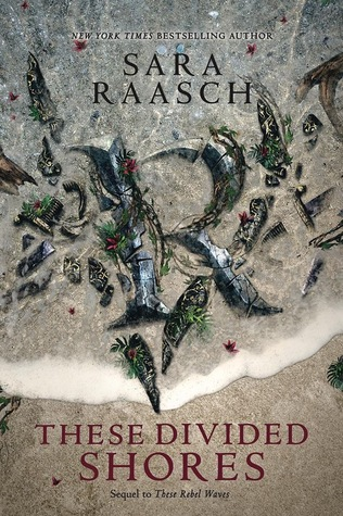 Title:  These Divided Shores (Stream Raiders #2) , Author: Sara Raasch, Publisher: Balzer + Bray, Publish Date: August 27, 2019; Genres + Tags: YA, Young Adult, Fantasy, Historical, Adventure, Pirates, YA Historical Fantasy Adventure