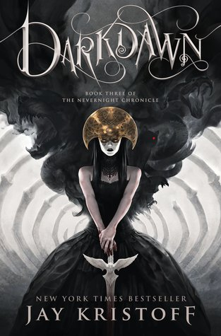 Title:  Darkdawn (The Nevernight Chronicle #3) , Author: Jay Kristoff, Publisher: Thomas Dunne Books, Publish Date: September 3, 2019; Genres + Tags: New Adult, NA, Fantasy, Dark Fantasy, LGBT, Romance, NA Dark Fantasy, NA Romance, NA LGBT, NA Fantasy