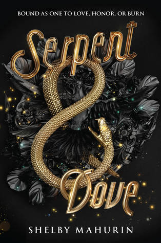 Title:  Serpent & Dove (Serpent and Dove #1) , Author: Shelby Mahurin, Publisher: HarperTeen, Publish Date: September 3, 2019; Genres + Tags: Young Adult, YA, Fantasy, Romance, YA Fantasy, YA Fantasy Romance, Witches, Fall Reads, Autumn Reads