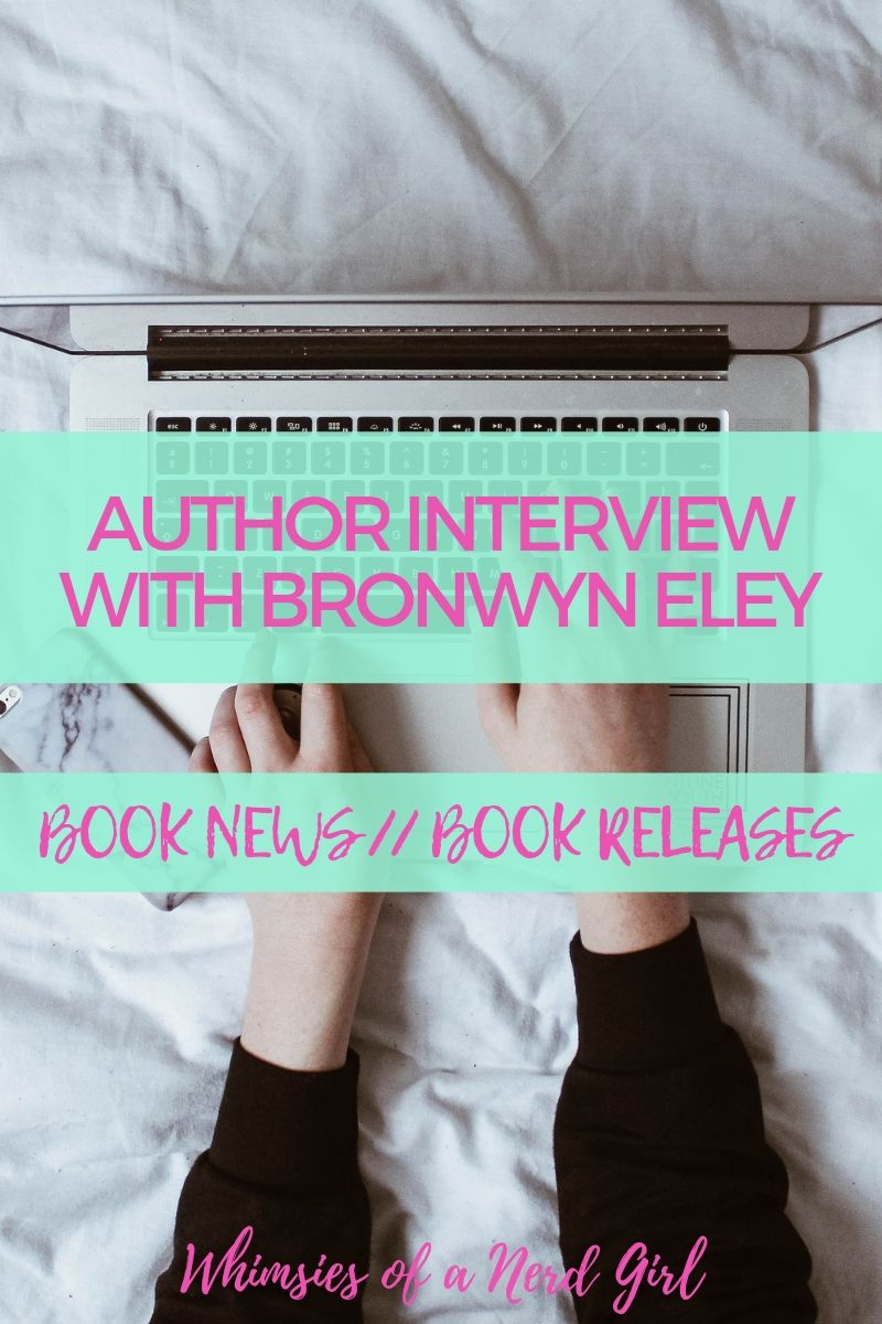 Interview with Bronwyn Eley, debut author of The Relic Trilogy published by Talem Press on September 12, 2019.
